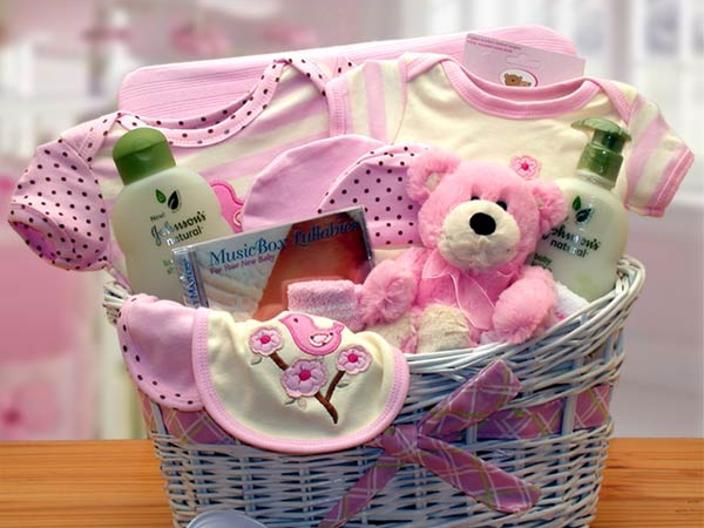 Подарок для новорожденной девочки фото